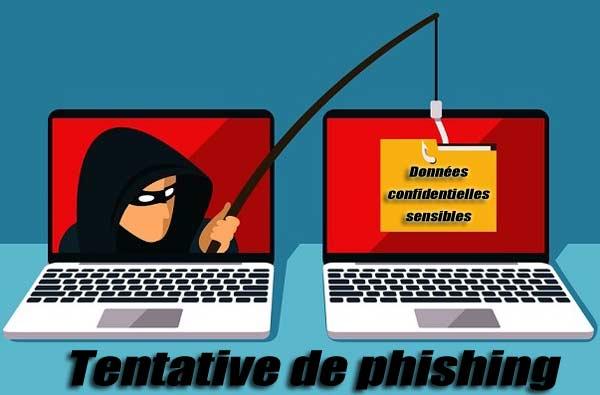 Gare au phishing avec usurpation d'identité