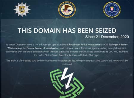 Nom de domaine d'un VPN saisi parce qu'il était plébiscité par les cybercriminels